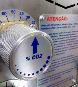 Concentração de CO2 no processo de solda MAG