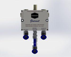 Misturador de gases para chopp - uso residencial