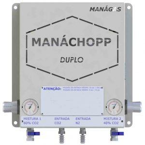 Misturador de Gases - Chopp com Nitrogênio - Modelo Duplo