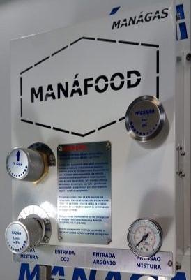 Misturador de Gases para Alimentos - Aumentar a validade do alimento