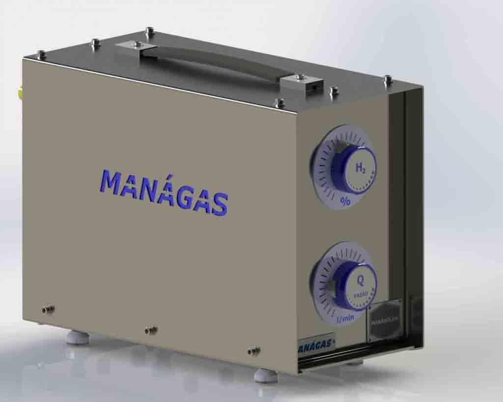 Misturador de Gases para Solda MIG MAG