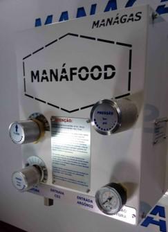 Misturador de Gases para Alimentos - Atmosfera Modificada