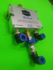 Misturador de gases - Combina CO2 e N2 - MANÁCHOPP GOURMET - ideal para uso doméstico
