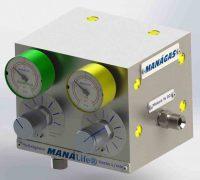 Blender Misturador de Ar x O2 - Circulação Extracorpórea - Misturador de Gases
