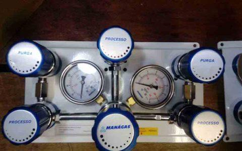 Central de Gases para solda MIG e pressão de trabalho