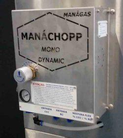 Misturador de Gases - CO2 x Nitrogênio