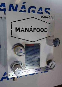 Misturador de Gases para Conservação de Alimentos