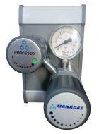 Regulador de Pressão para Gases Especiais - Segundo Estágio - Regulador de Posto
