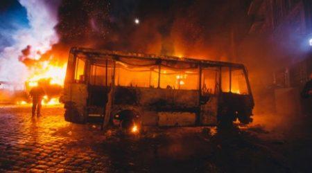 Supressão e prevenção de incêndio em ônibus